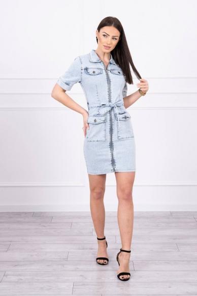 Džinsinė suknelė MOD620 3