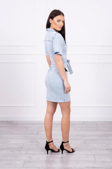 Džinsinė suknelė MOD620 2