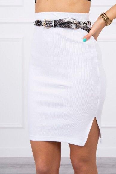 Baltas sijonas MOD690 4