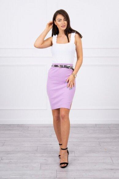 Violetinis sijonas MOD690 3