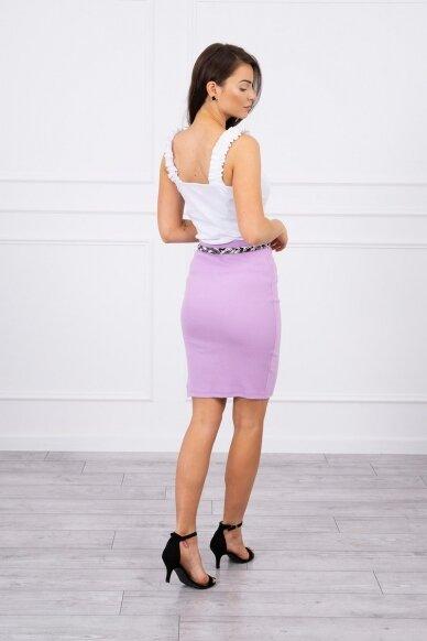 Violetinis sijonas MOD690 2