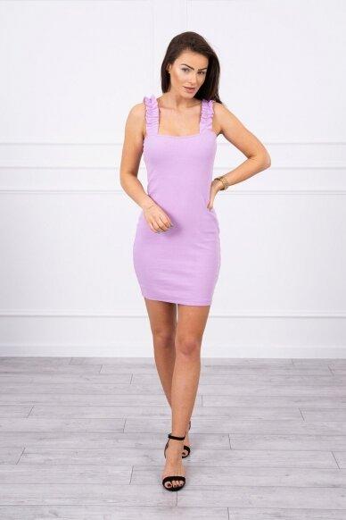 Violetinė suknelė MOD692 3