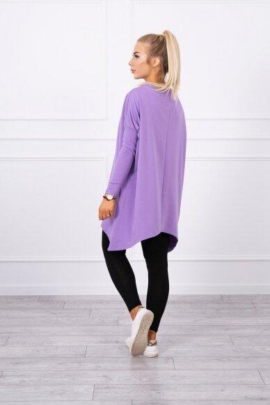 Violetinės spalvos marškinėliai MOD450 3