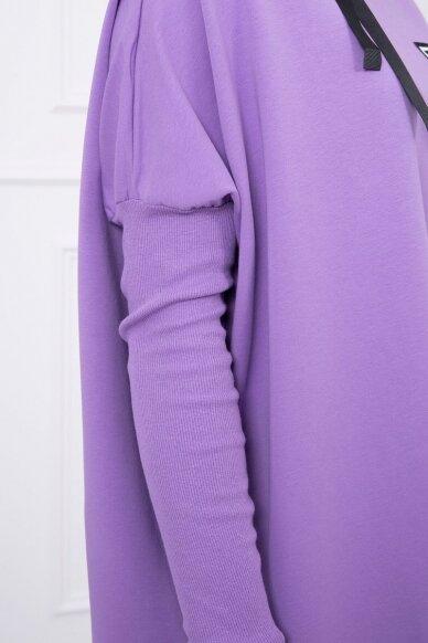 Violetinės spalvos marškinėliai MOD450 4