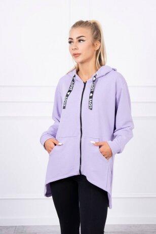 Violetinės spalvos marškinėliai MOD733