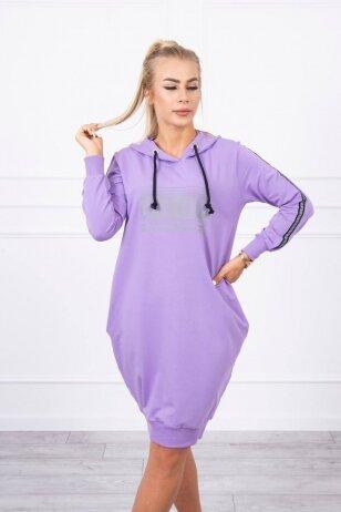 Violetinė suknelė MOD747