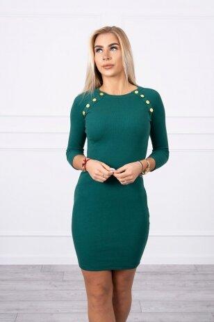 Žalia suknelė MOD703