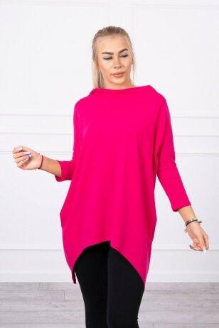 Rožinės spalvos marškinėliai MOD779