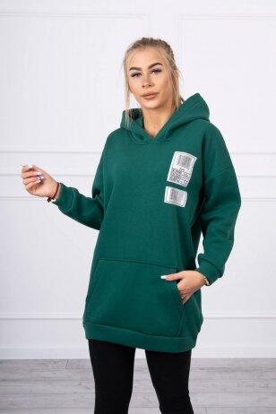 Žalias džemperis MOD780