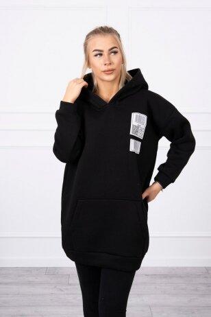Juodas džemperis MOD780