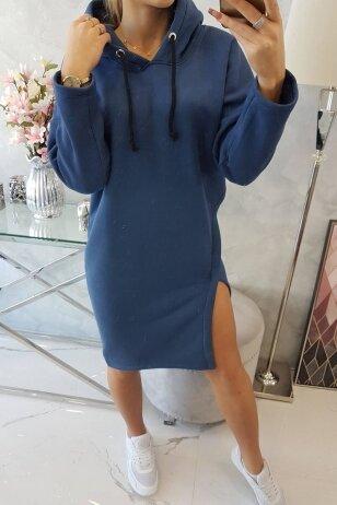 Džinsinės spalvos suknelė MOD786