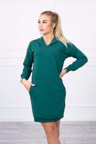 Žalia suknelė MOD726