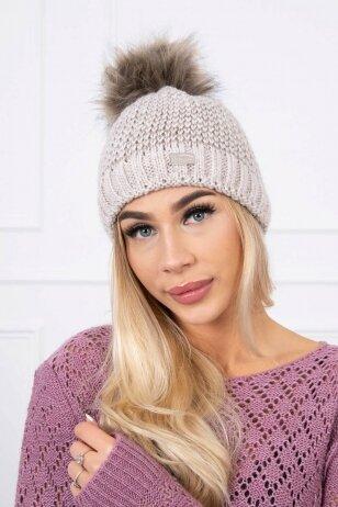 Smėlinė kepurė K179