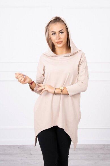 Smėlinės spalvos marškinėliai MOD779 4