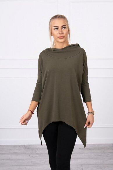 Chaki spalvos marškinėliai MOD779