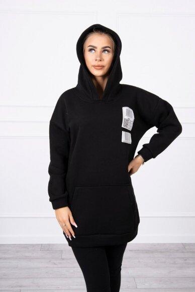 Juodas džemperis MOD780 5