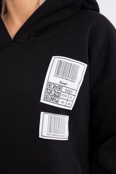 Juodas džemperis MOD780 7