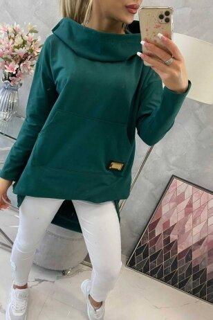 Žalios spalvos marškinėliai MOD755