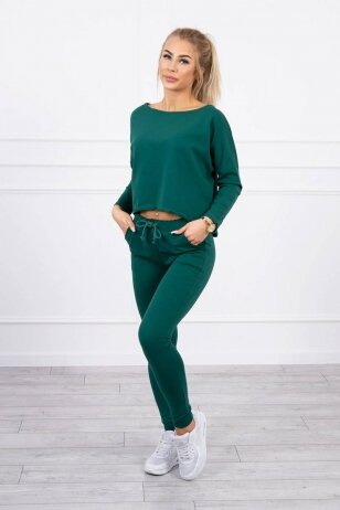 Žalias sportinis kostiumas MOD707