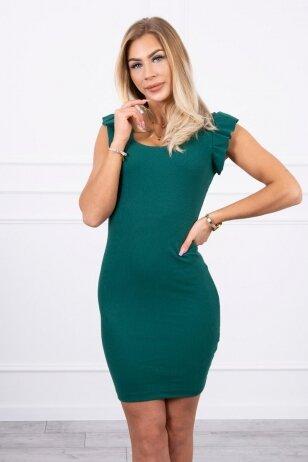 Žalia suknelė MOD706