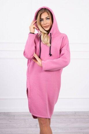 Rožinė suknelė MOD786