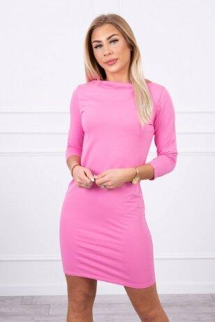 Šviesiai rožinė suknelė MOD017