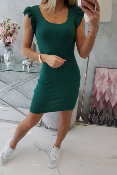 Žalia suknelė MOD706 5