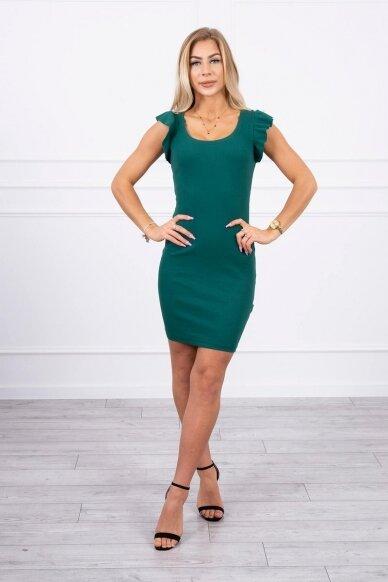 Žalia suknelė MOD706 3