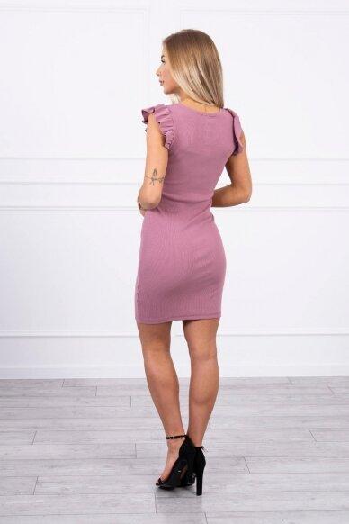 Tamsiai rožinė suknelė MOD706 2