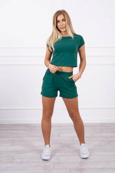 Žalias moteriškas kostiumėlis MOD688 2