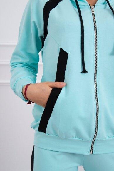 Mėtinės spalvos sportinis kostiumas MOD687 5