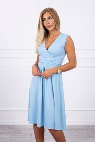 Žydra suknelė MOD277