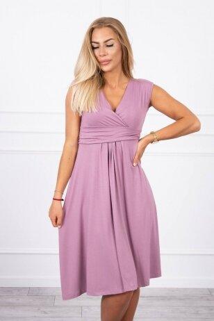 Tamsiai rožinė suknelė MOD277