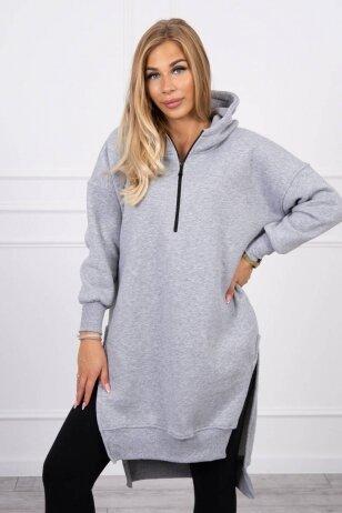 Pilkas džemperis MOD1421
