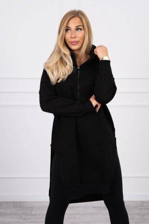 Juodas džemperis MOD1421
