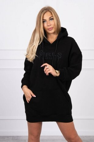Juodas džemperis MOD1420