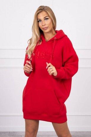 Raudonas džemperis MOD1420
