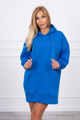 Rugiagėlių spalvos džemperis MOD1420