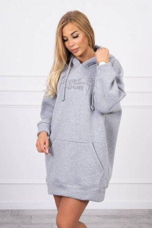 Pilkas džemperis MOD1420