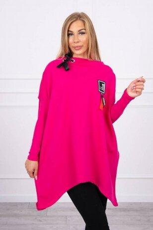 Rožinės spalvos marškinėliai MOD450