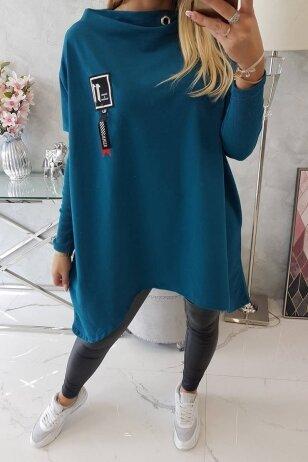 Jūros spalvos marškinėliai MOD450