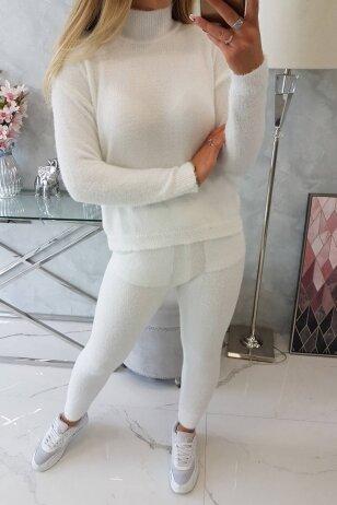 Baltas moteriškas kostiumėlis MOD1438