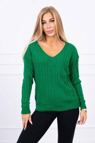 Žalias megztinis MOD484