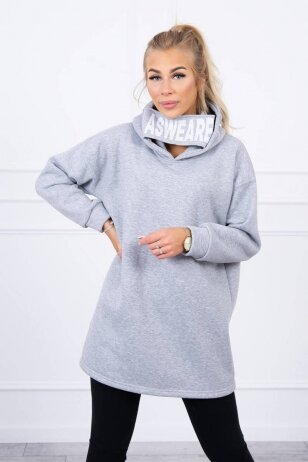 Pilkas džemperis MOD1472