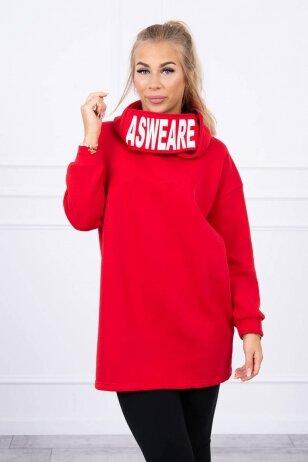 Raudonas džemperis MOD1472
