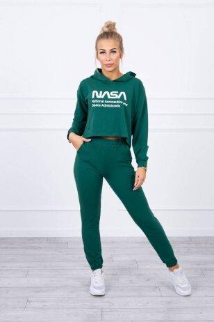 Žalias sportinis kostiumas MOD1469