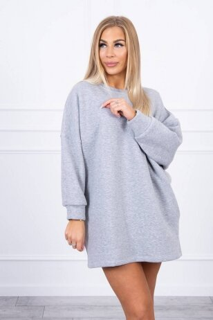 Pilkas džemperis MOD1467