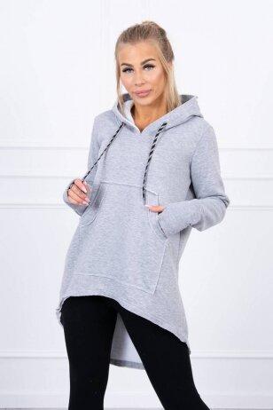 Pilkas džemperis MOD1466