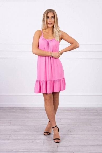 Rožinė suknelė MOD708 3