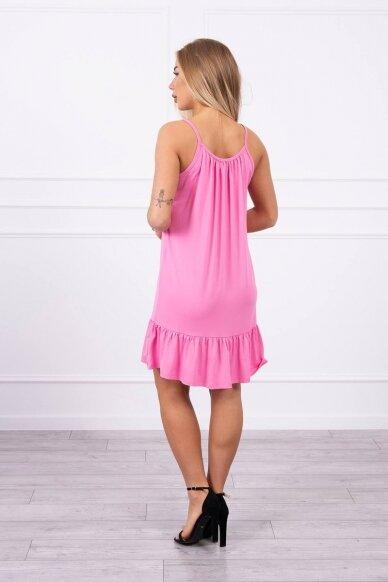 Rožinė suknelė MOD708 2